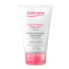 Topicrem - Crème pour les mains ultra-hydratante peaux sensibles - 50ml