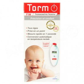 TORM - thermomètre frontal F04