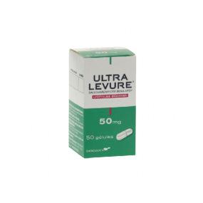 Ultralevure 50mg 50 gélules