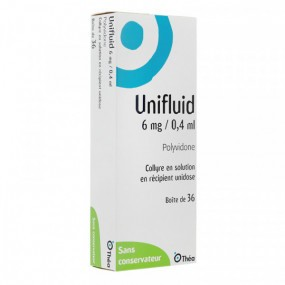 Unifluid 6mg / 0,4ml collyre 36 unidoses