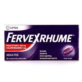 Fervex Rhume 16 comprimés