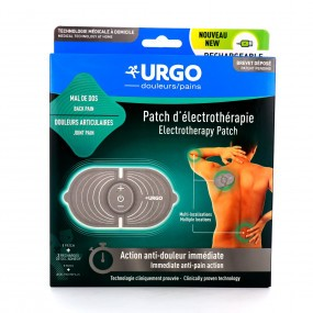 Urgo Douleurs Patch d'Électrothérapie Rechargeable