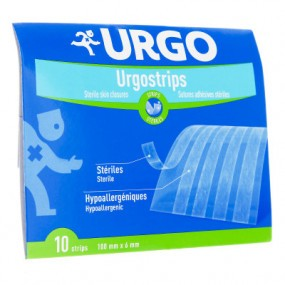 Urgo strips 6 mm x 100 mm 10 sutures
