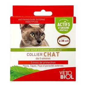 Vétobiol Collier Antiparasitaire Chat