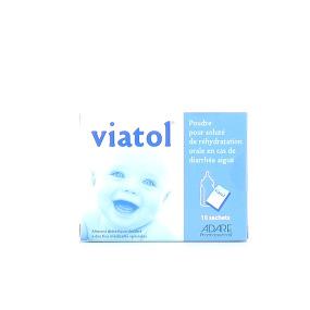 Viatol 10 Sachets de solution de réhydratation