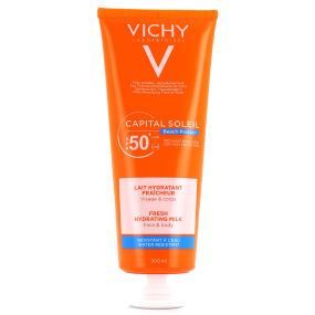 Vichy Capital Soleil Lait Hydratant Fraîcheur SPF 50+ Visage & Corps