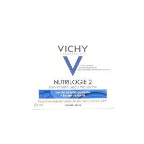 VICHY Nutrilogie 2 Soin profond Peau très sèche