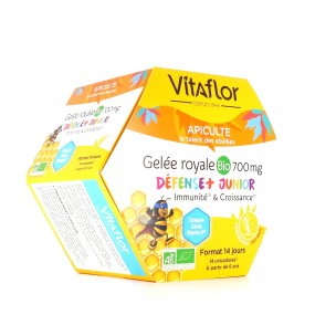 Vitaflor Gelée Royale BIO 700 mg Défense + Junior