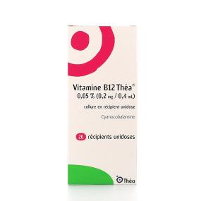 Vitamine B12 théa collyre 20 unidoses