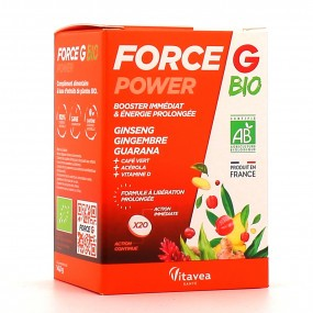Vitavea Santé Force G Power Bio 20 comprimés