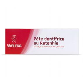 Weleda Pâte Dentifrice au Ratanhia