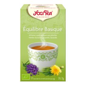 Yogi Tea Equilibre Basique 17 sachets d'infusion