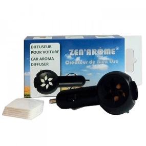 ZEN ARôME - Diffuseur d'huiles essentielles pour voiture DIFCAR