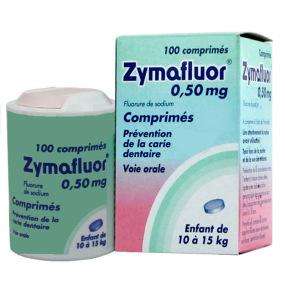 Zymafluor 0,50mg tube de 100 comprimés