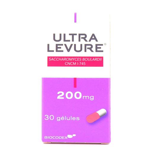 Ultra Levure 200mg Boîte de 30 gélules