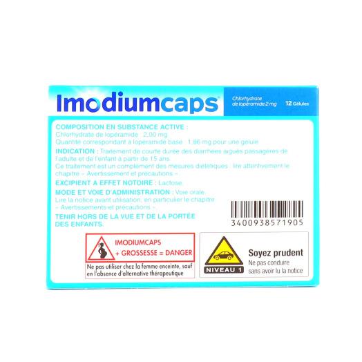 Imodium caps 2mg