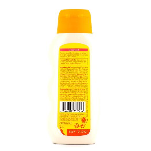 Weleda calendula lait corporel