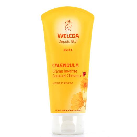 Weleda calendula crème lavante corps et cheveux