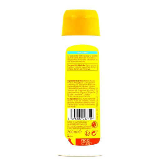 Weleda Bain crème bio en 200 ml