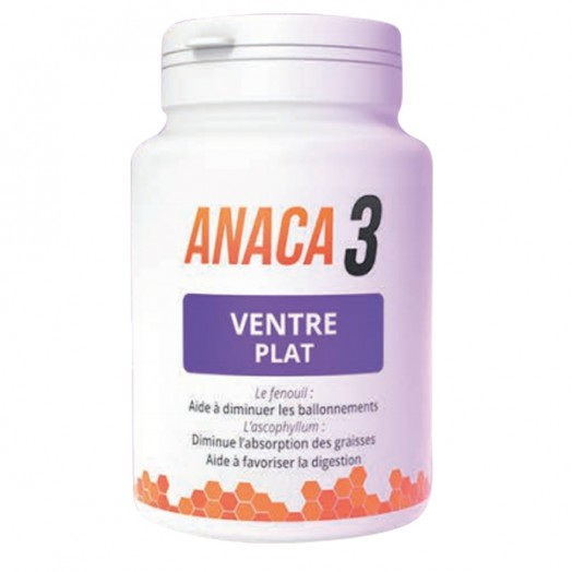 Ventre Plat 60 gélules - Anaca3   Pharmacie des drakkars