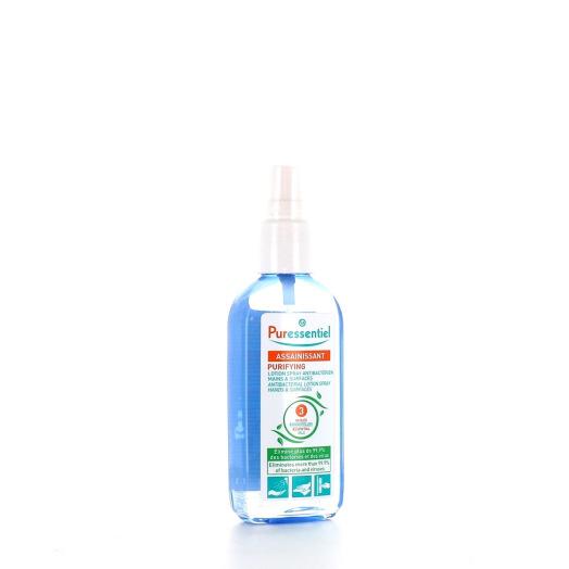 Puressentiel Spray Assainissant Lotion Antibactérien Mains et Surfaces