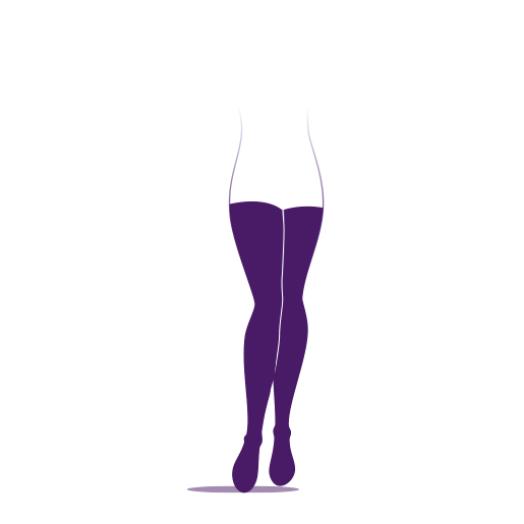 Sigvaris Maternité Collant Transparent Taille M Taille L