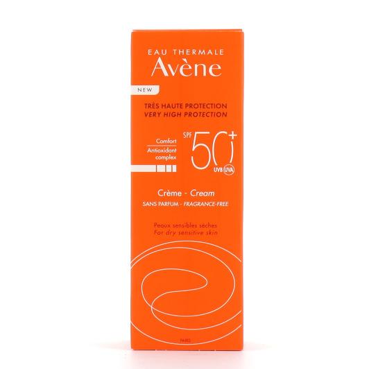Avène Crème Solaire SPF50+ avec ou sans parfum