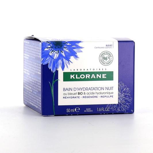 Klorane Bain d'Hydratation Nuit BIO