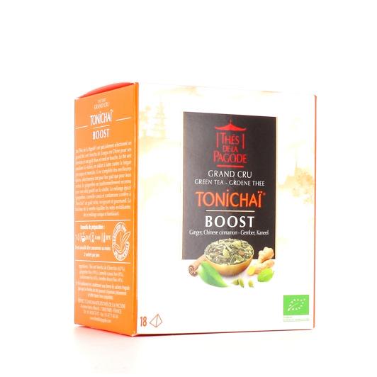 Thés de la Pagode Thé Vert Tonichaï Boost