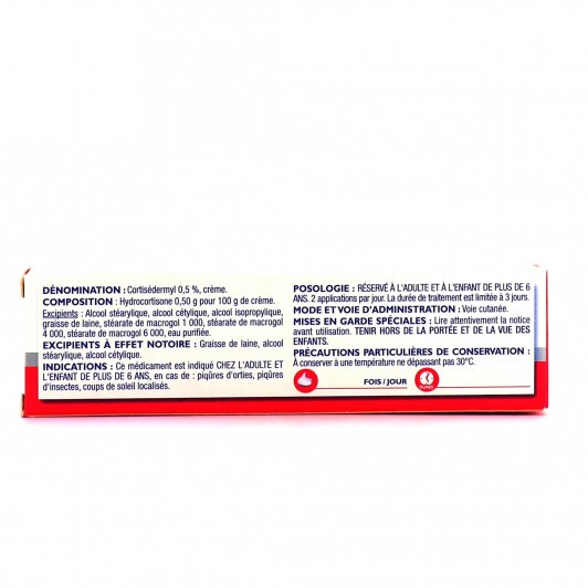 CortiSédermyl 0.5% crème 15 g
