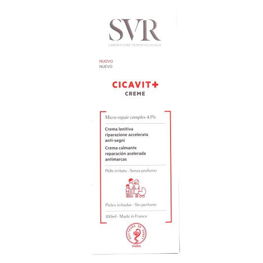 Cicavit + crème apaisante réparation accélérée anti-marques