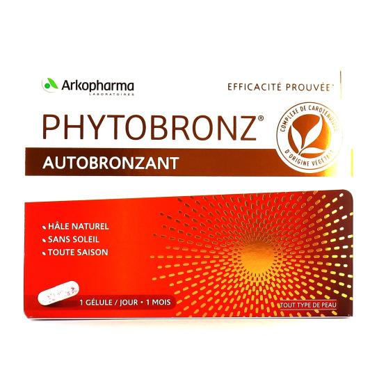 Phytobronz Autobronzant Hâle naturel 30 gélules
