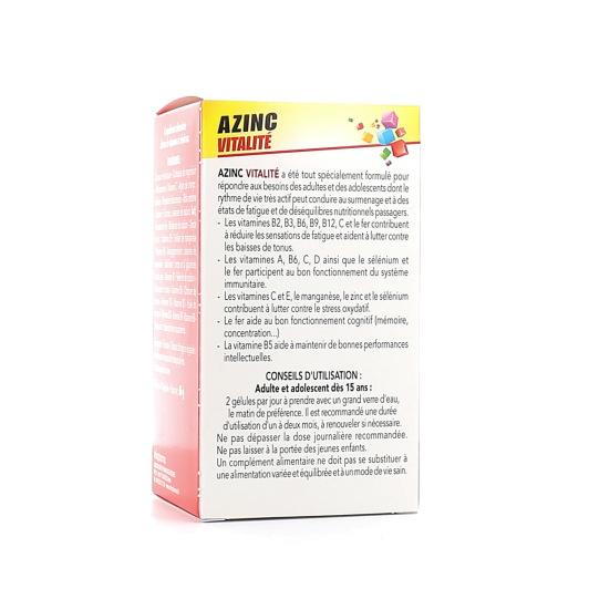 Arkopharma - Azinc forme et vitalité