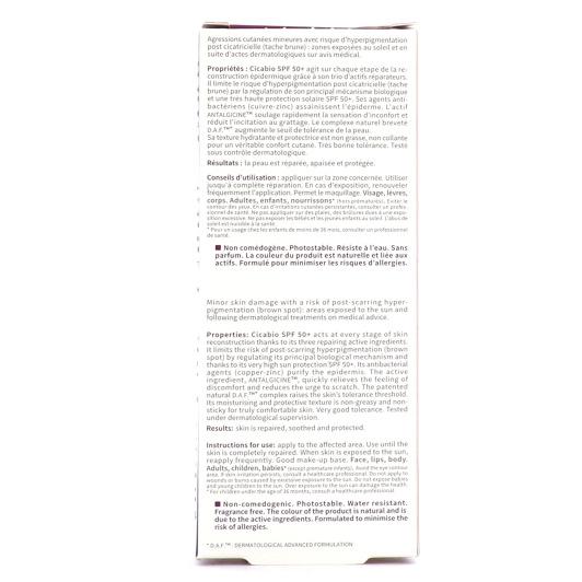 Bioderma Cicabio SPF50+