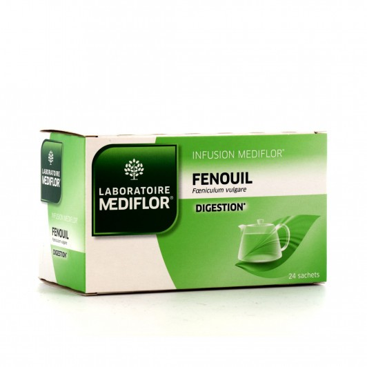 Médiflor Infusion Fenouil Digestion 24 sachets