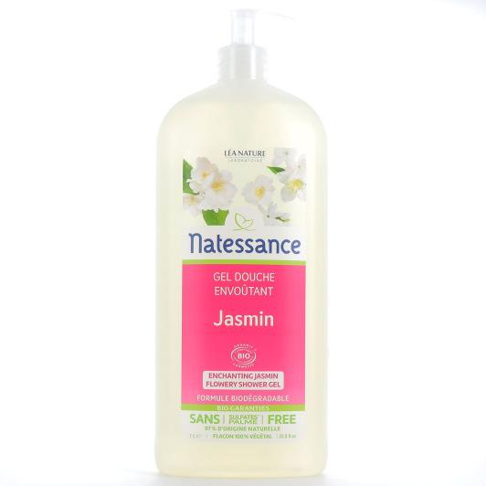 Natessance Gel douche jasmin floral Bio 1L