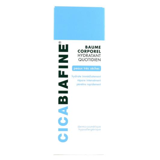 Cicabiafine Baume Corporel Hydratant Quotidien Peaux Très Sèches