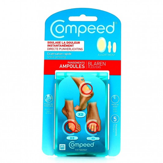 COMPEED - Pansements Ampoules Assortiment