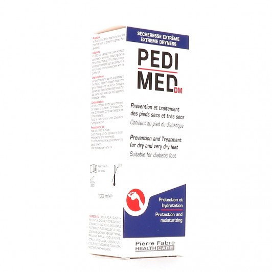 PediMed crème soin des pieds 100ml