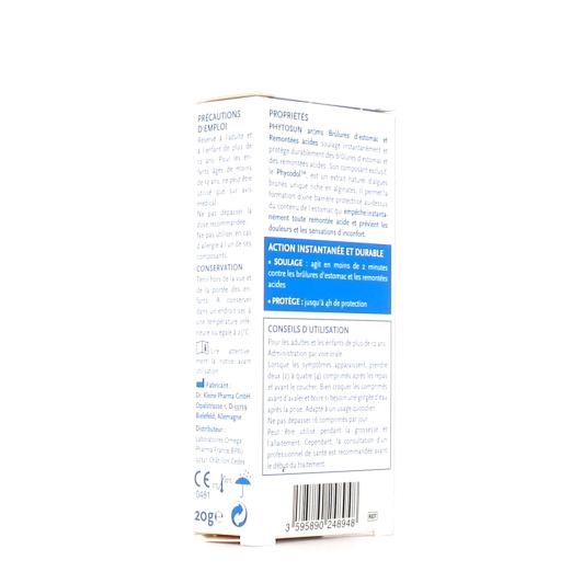 Phytosun Aroms Estomac Brûlures & Remontées Acides
