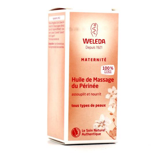 Weleda huile de massage du périnée
