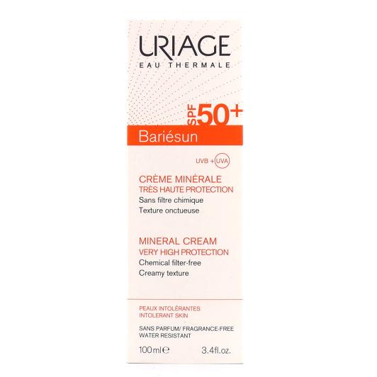URIAGE Bariésun SPF50+ Crème Minérale 100ml