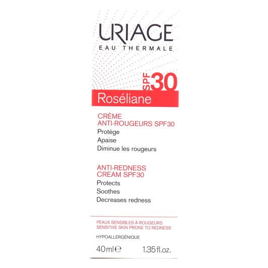 URIAGE Roséliane SPF30 Crème Anti-Rougeurs 40ml