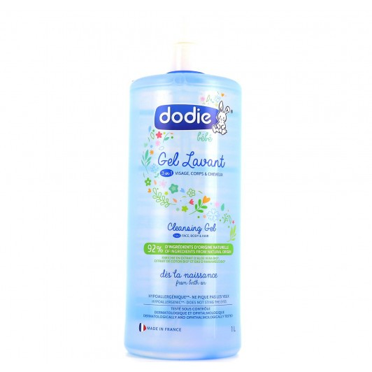 Dodie - Gel lavant 3 en 1 Bio