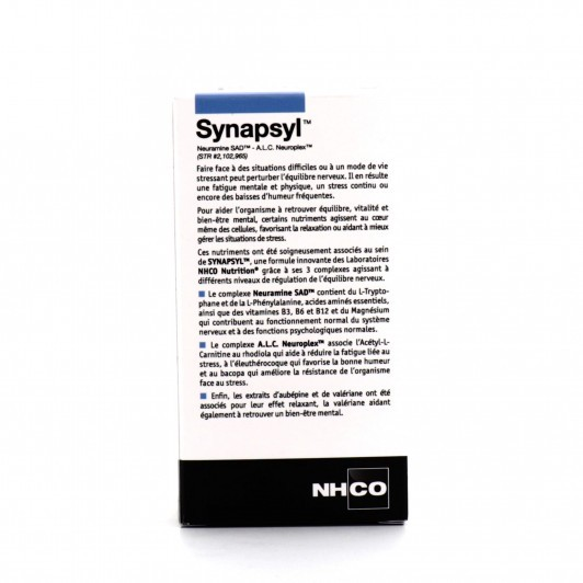 NHCO Synapsyl Équilibre Nerveux 70 gélules