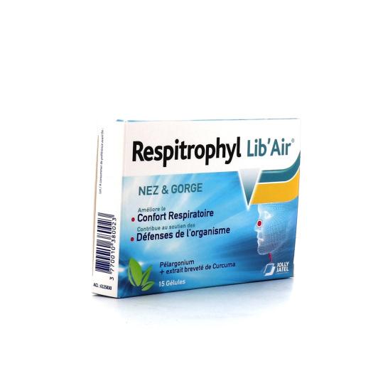 Respitrophyl Lib'Air Nez et Gorge 15 gélules