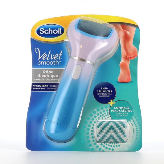 Scholl Velvet Smooth Pedi Râpe électrique exfoliante