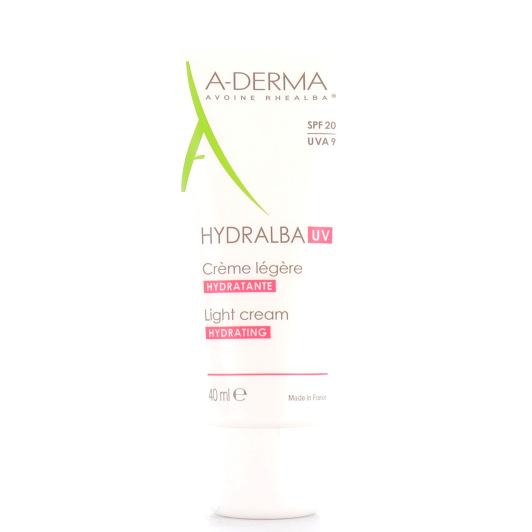 ADERMA Hydralba UV Crème hydratante légère ou riche