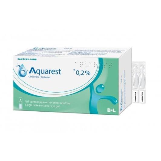 Aquarest 0,2% gel ophtalmique 60 unidoses