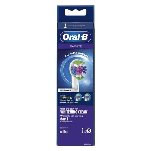 Brossettes 3D White recharge brosse à dents électrique
